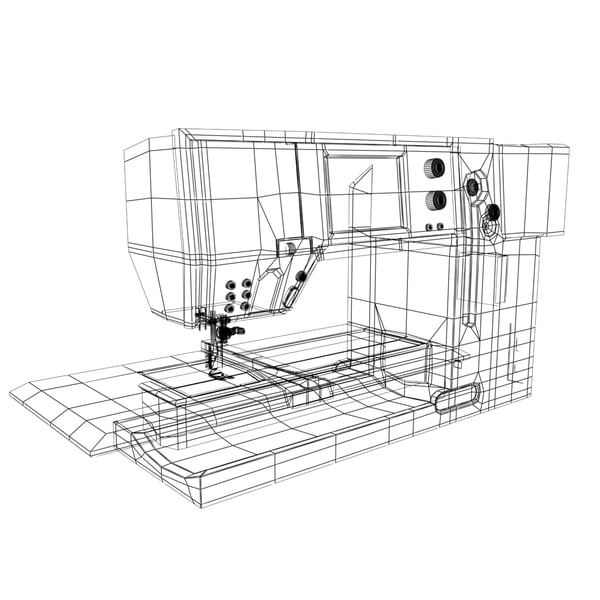 3d sewing machine - Sewing Machine... by Obsidian Studios
