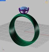free 3dm mode ring stone soliter