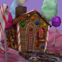 Hansel & Gretel Candy House Collection