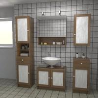 bathroom textur 3d 3ds