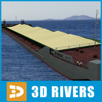 Barge sand by 3DRivers