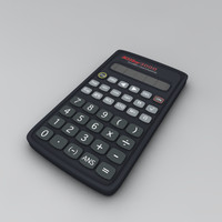 free calculator mathematics 3d model