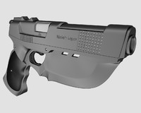 3ds max future handgun bladed