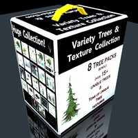 Fantasy Trees 8 packs Huge Collection