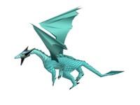 3d model dragon d