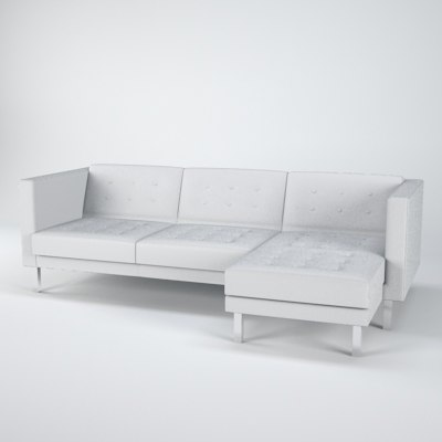 Stl finder 3d models for ikea kivik sofa Ikea karlstad sofa