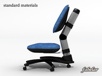 office chair 3ds