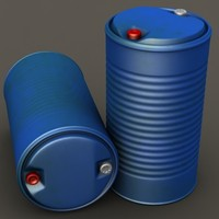 Plastic barrel #01