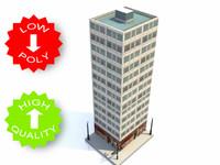 building cities traffic 3d model