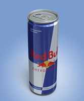 3d model redbull lighting