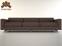 sofa base 3d 3ds