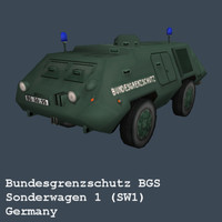 Police BGS SW1 (Armoured Car Germany)