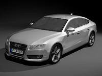 3d model audi a5 sportback
