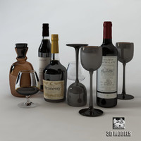 Bottles & Glasses