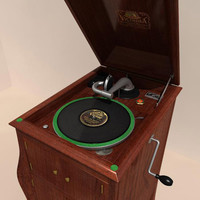 Victor Gramophone - Previous version