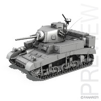3d british m3 light tank