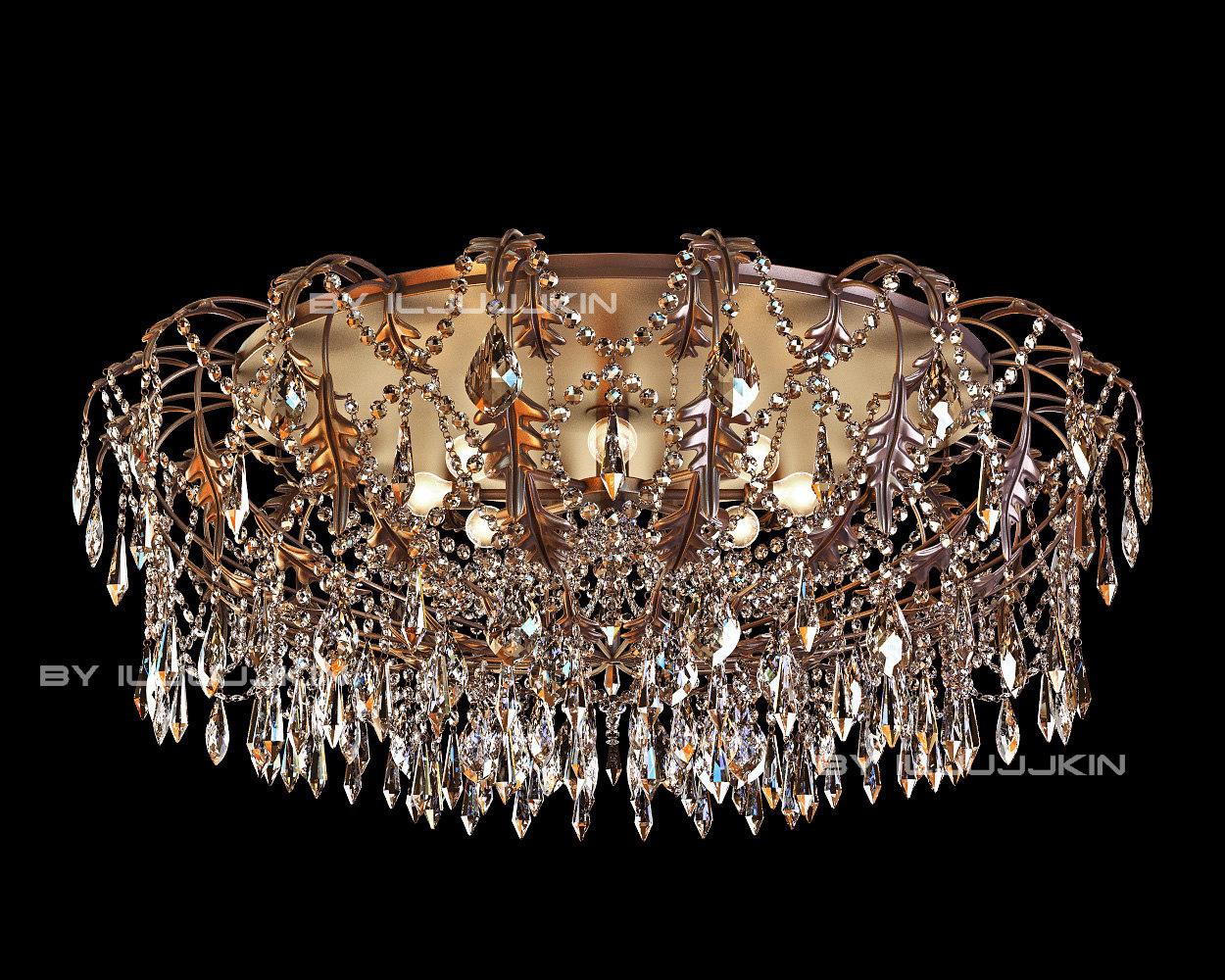 chandelier mm lampadari 6696 3d model