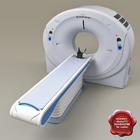 c4d medical ct scanner aquilion