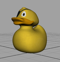 maya rubber duck