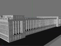treasury building 3d model