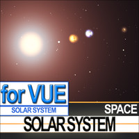 solar scientific photoreal photos vue