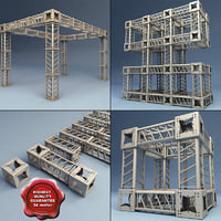 Steel Truss collection V3