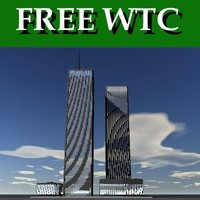 free world trade center 3d model