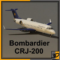 3d bombardier private jet