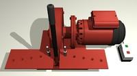 lightwave hydraulic cut saw