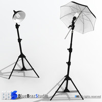 light umbrella and lamp holder