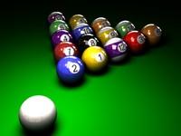 maya pool ball