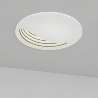 Recessed Lights Wall Washer : 3ds max recessed light wall washer