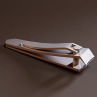 3dsmax nail clipper