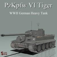 PzKpfw VI TigerI