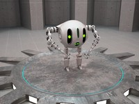 3d robot