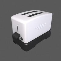 toaster toast 3d max