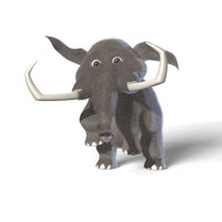 mammoth 3d max