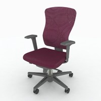 3d model keilhauer sguig syncro chair