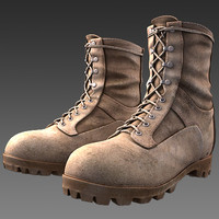desert combat boot max9 3d max