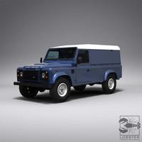 british road 4x4 3d model