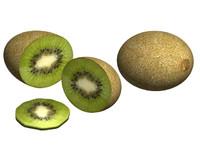 kiwi fruit 3d max