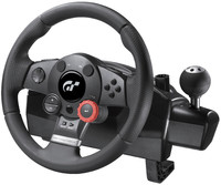 3d model logitech steering wheel