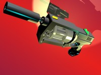 maya gun pistol