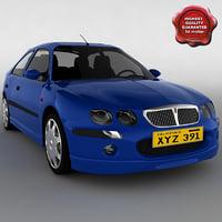 rover 25 si 2000 3d model