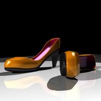 3d heel