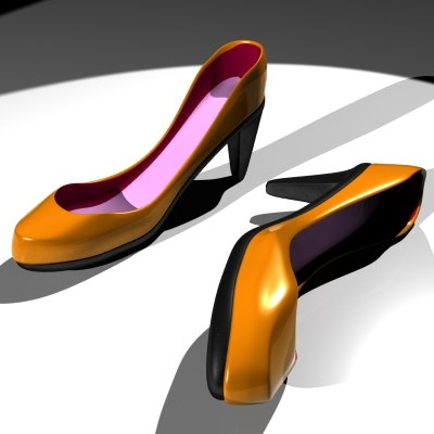 3d heel - high_heel.max... by pegasusa012