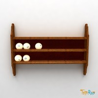 ball billiard billiard-balls 3d model