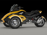 3d spyder motorcycle can-am
