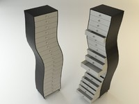 3d drawer design furniture