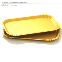 3d model tartlets tray